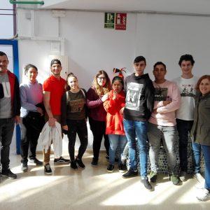 Visita al CEE de Son Ferriol dels alumnes de HOT2S