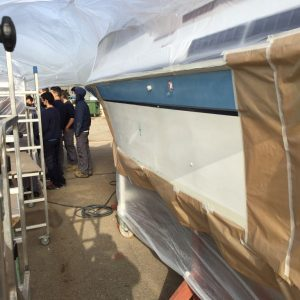 Masterclass pintura vinílica per a embarcacions