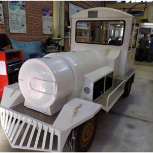 Projecte de restauració d'un tren turístic
