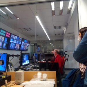 Visita a RTVE-Balears