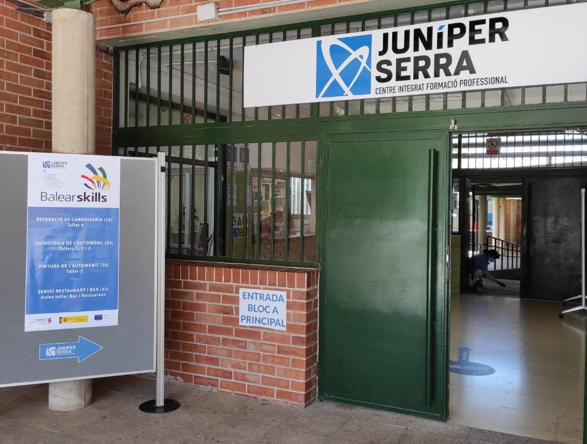 Resultats competició Balearskills celebrada al CIFP Juníper Serra